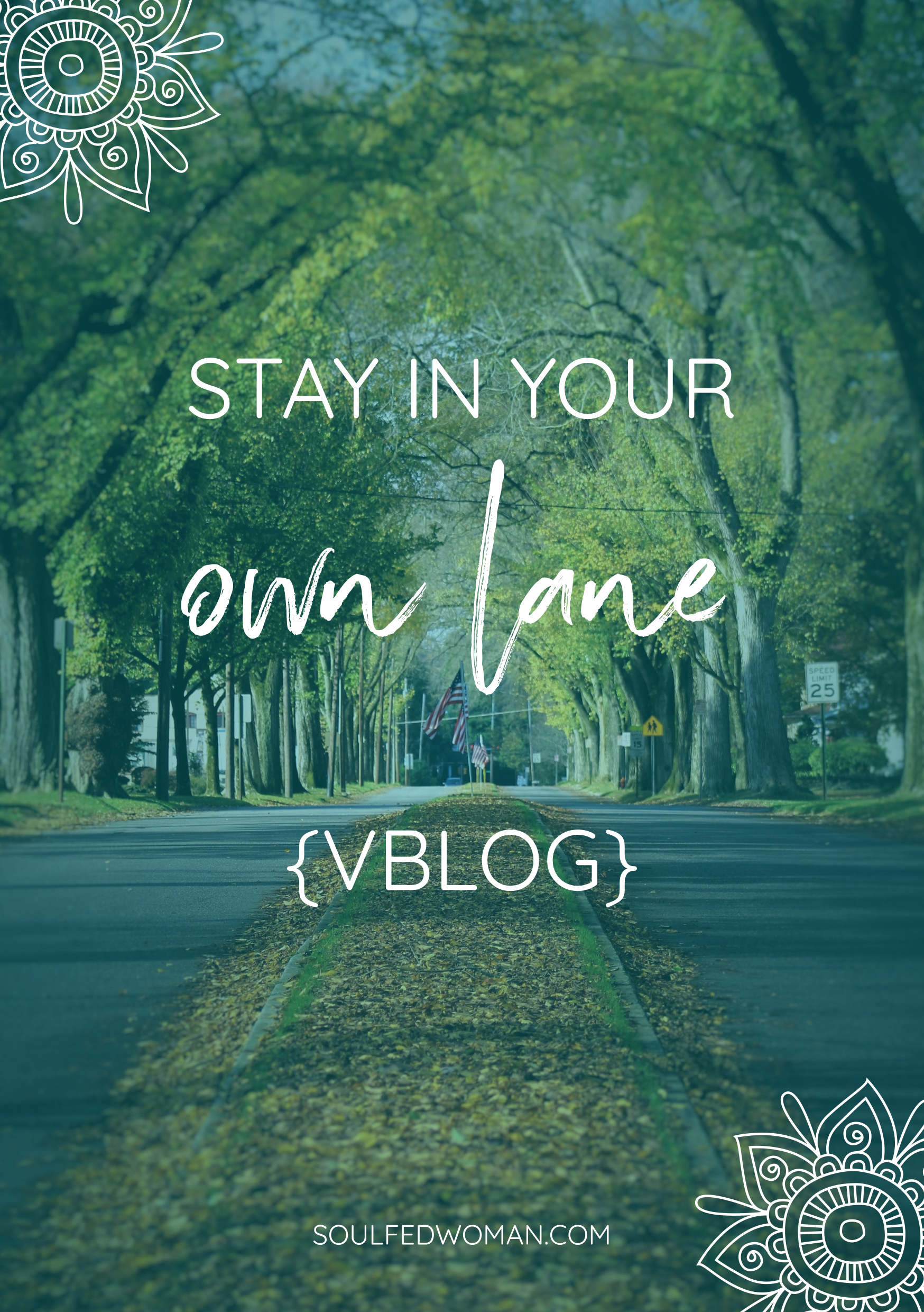 stay in your own lane rachel foy comparing personal development soul fed woman