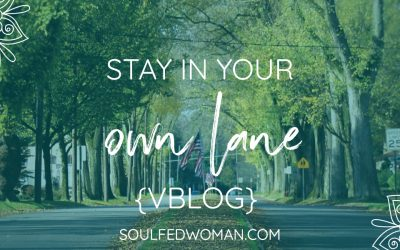 {VBLOG} Stay In Your Own Lane!