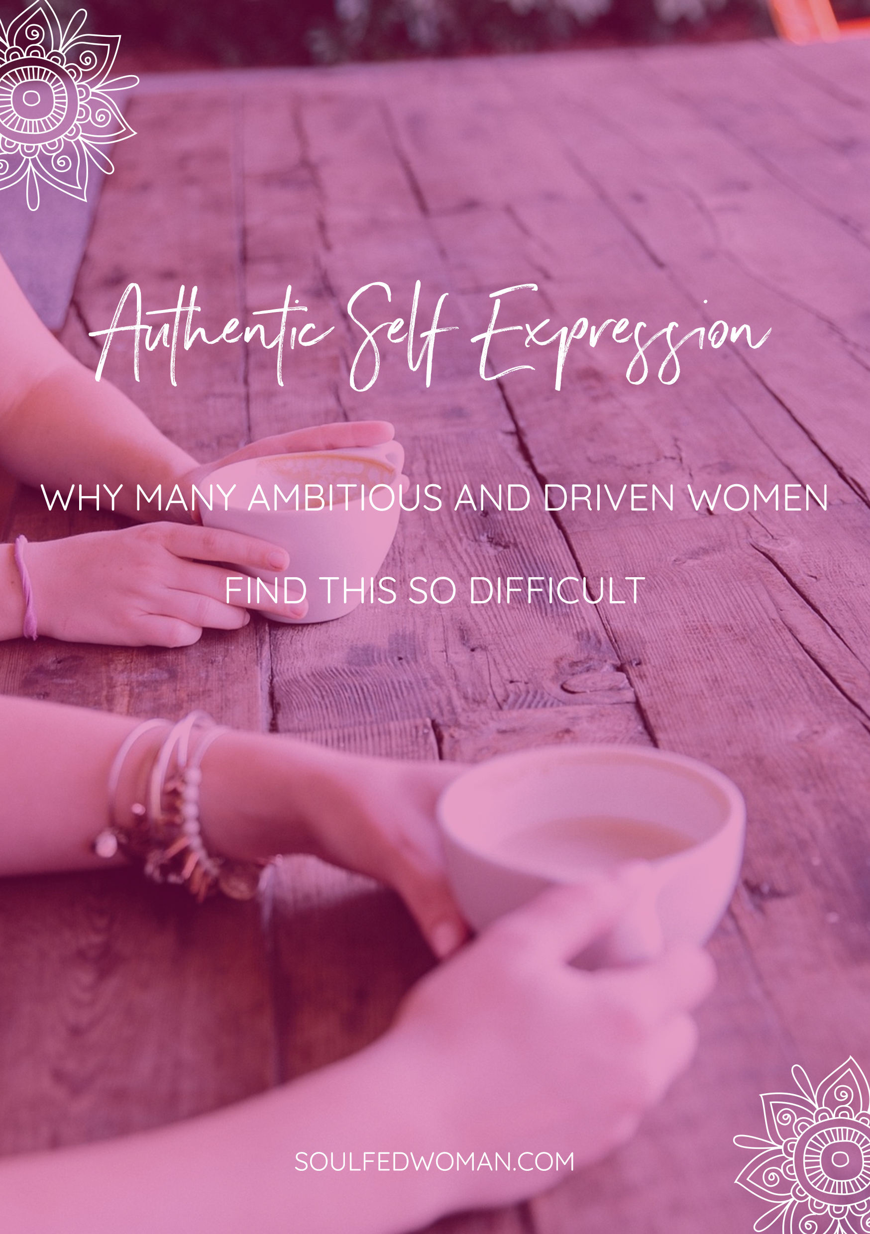 Do you struggle with expressing yourself? Many ambitious and driven women like you find authentic self expression challenging. Let's find out why