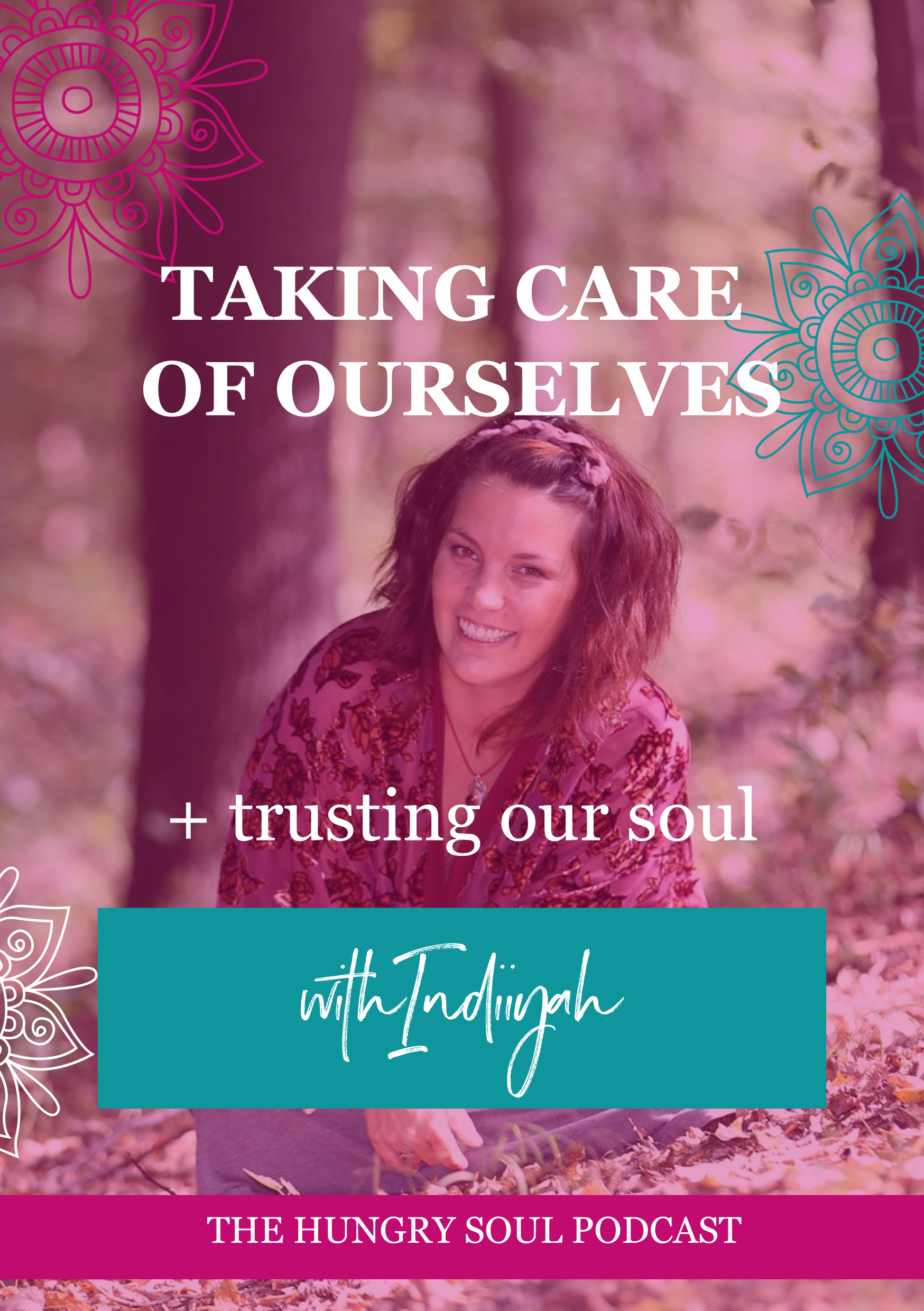 The Hungry Soul host Rachel Foy interviews Sarah Negus on being a modern day shaman, and how we can learn to understand ourselves better